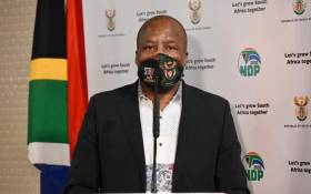 Minister in the Presidency Jackson Mthembu. Pictire: GCIS.