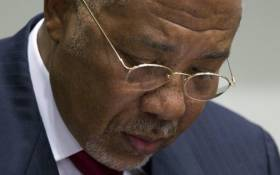 Former Liberian President Charles Taylor. Picture: AFP