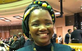 Late Deputy Mineral Resources Minister Bavelile Hlongwa. Picture: Twitter