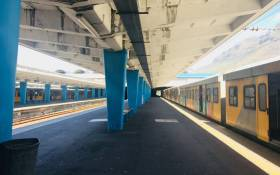 Cape Town train station. Picture: @CapeTownTrains/Twitter