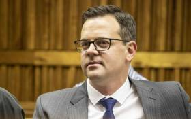 AfriForum's Ernst Roets in the Johannesburg High Court on 17 September 2019. Picture: Abigail Javier/EWN