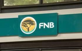 FILE: An FNB bank. Picture: EWN