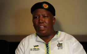 Expelled ANC Youth League leader Julius Malema. Picture: Werner Beukes/SAPA