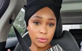 Minnie Dlamini-Jones. Picture: Minnie Dlamini-Jones/Twitter.