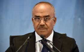 Algeria's newly appointed prime minister, Noureddine Bedoui. Picture: AFP.