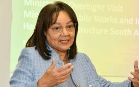Public Works and Infrastructure Minister Patricia de Lille. Picture: @PatriciaDeLille/Twitter