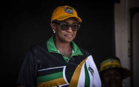 FILE: Minister of Women in the Presidency Bathabile Dlamini at an ANC campaign in Katlehong. Picture: Abigail Javier/EWN