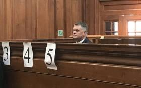 Jason Rohde appears in the Western Cape High Court on 11 November 2018. Picture: Shamiela Fisher/EWN