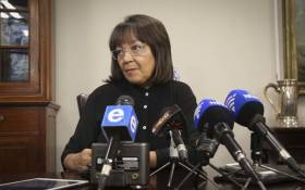 Outgoing Cape Town Mayor Patricia de Lille. Picture: Cindy Archillies/EWN.