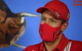 Ferrari driver Sebastian Vettel addresses the driver's press conference on 2 July 2020, on the eve of the first practice session at the Austrian Formula One Grand Prix in Spielberg, Austria. Picture: AFP