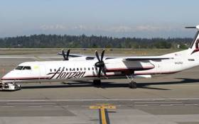 Horizon Airlines Plane. Picture: Twitter.