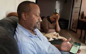 Pfarelo Mphamphuli and Nomsa Mdunana, the parents of 24-year-old student Kgothatso Mdunana, who died in mysterious circumstances in China. Picture: Boikhutso Ntsoko/Eyewitness News