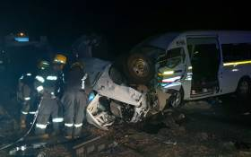 9 people died and 27 others were injured in a car accident in Limpopo on Saturday evening. Picture: Supplied.