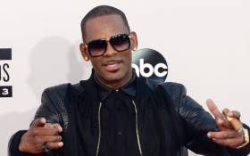 In this file photo taken on 24 November 2013, R Kelly arrives for the 2013 American Music Awards in California. Picture: AFP.