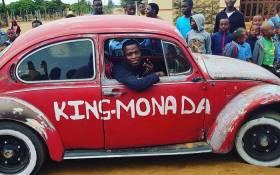 King Monada. Picture: @KingMonada/Twitter