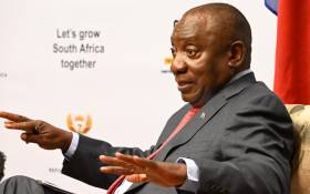 President Cyril Ramaphosa at a media briefing on 3 June 2021. Picture: GCIS