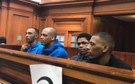 FILE: Hannah Cornelius' killers in the dock for sentencing proceedings. Picture: Lauren Issacs/EWN