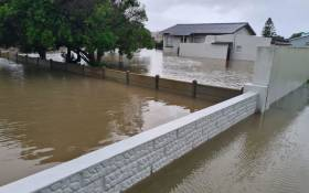 Western Cape Storm Struisbaai and surrounding areas have experienced heavy rain and flooding. Picture:  Supplied