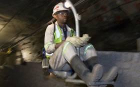 FILE: Underground at Kroondal chrome mine. Picture: Glencore.com.