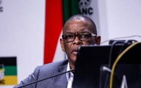 FILE: ANC secretary general Ace Magashule at the post-NEC media briefing on Tuesday, 30 July 2019, at Luthuli House. Picture: Kayleen Morgan/EWN