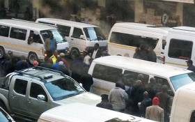 FILE. At least two people have died in taxi violence shootings this week. Picture: via Twitter @_MotsoB