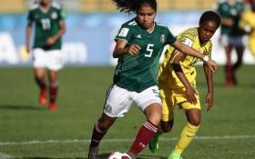 South Africa's under-17 Women's side held Mexico to a goalless draw in their World Cup opening game. Picture: Safa_net/Twitter