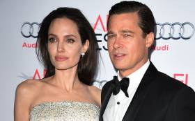 FILE: Angelina Jolie and Brad Pitt. Picture: AFP