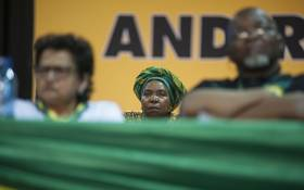 Nkosazana Dlamini Zuma during the nominations process at the ANC's national conference on 17 December 2017. Picture: Ihsaan Haffejee/EWN