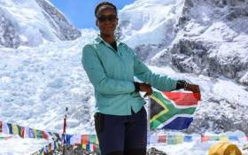 South African mountaineer Saray Khumalo. Picture: GCIS