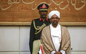 In this file photo taken on 14 March 2019, Sudan's President Omar al-Bashir attends a meeting with his new 20-member cabinet as they take oath at the presidential palace in the capital Khartoum. Picture: AFP