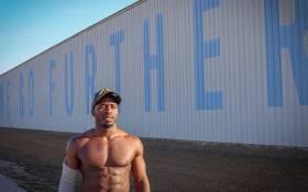 NXT superstar ACH. Picture: @GoGoMyles/Tiwtter