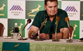 Rassie Erasmus Image: Posted on the Facebook Page of the Springboks - https://www.facebook.com/springboks