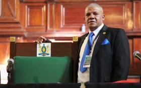 Democratic Alliance councillor Vasco da Gama elected as new Johannesburg Council Speaker. Picture: Christa Eybers/EWN.
