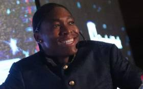 Olympian Caster Semenya speaking at the Top Women Conference in Johannesburg on 14 August 2019. Picture: Kayleen Morgan/EWN