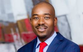 MDC Alliance leader Nelson Chamisa. Picture: @NelsonChamisa/Twitter