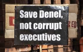 Numsa marched to the Public Enterprises Ministry in Pretoria to demand government save Denel on 9 November 2018. Picture: Abigail Javier/EWN