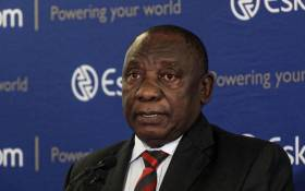 FILE: President Cyril Ramaphosa addressing a media briefing on 11 December 2019 at Megawatt Park, Johannesburg, following his meeting with the Eskom board and management on the latest spate of power cuts in the country. Picture: Kayleen Morgan/EWN
