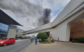 MultiChoice on 15 October 2019 evacuated one of its Randburg buildings after a blaze. Picture: Supplied.
