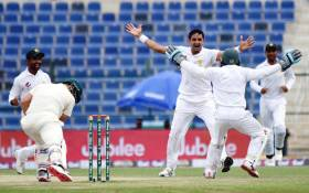 Pakistan beat Australia by 373 runs in Abu Dhabi on 19 October 2018. Picture: @TheRealPCB/Twitter