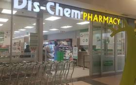 A Dis-Chem store: Picture: Dischem Facebook Page