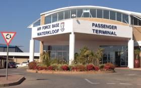 Waterkloof Air Force Base in Pretoria. Picture:Christa Van der Walt/EWN