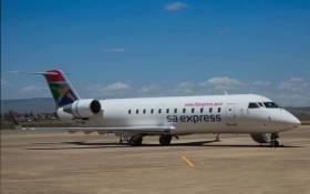 FILE: An SA Express plane. Picture: SA Express