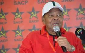 FILE: SACP general secretary Blade Nzimande. Picture: Twitter/@SACP1921