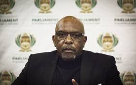 FILE: Former ANC MP Vincent Smith during a media briefing in Kempton Park, Johannesburg 24 June 2018. Picture: EWN