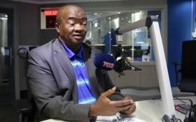 Bantu Holomisa on Radio702. Picture: @Radio702/Twitter