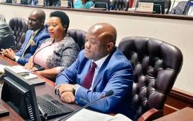 KwaZulu-Natal Premier Sihle Zikalala in the provincial legislature on 22 May 2019. Picture: @kzngov/Twitter
