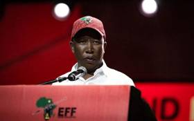 Economic Freedom Fighters leader Julius Malema pictured at his party's second national conference at Nasrec on 16 December 2019. Picture: Sethembiso Zulu/EWN.