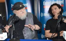 FILE: 'Game of Thrones' author George RR Martin (left). Picture: AFP