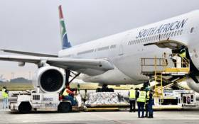 South Africa's second tranche of Johnson&Johnson COVID-19 vaccines has touched down at OR Tambo International Airport on Saturday, 26 February 2021.  This comes as the majority of initial doses received two weeks ago have been administered to healthcare workers. Picture: Twitter/@DrZweliMkhize