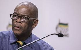 FILE: Ace Magashule. Picture: AFP.